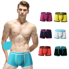 Lycra boxer briefs for men boy's briefs sheer panties briefs