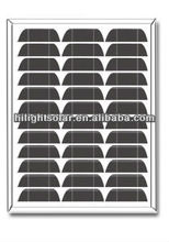 Hot selling! solar panel 15 watt mono, with TUV