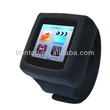 Portable Wrist watch Gift watch with 4GB memory MP3 and MP4 FM Radio New Product