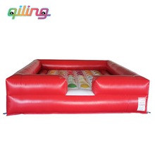 pvc material inflatable twister game for adult and kids