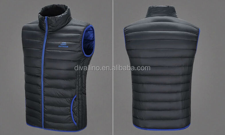2016 One-stop Factory of Men's Winter Vest with Factory Price