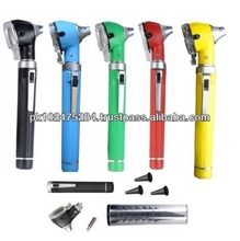 Portable Mini Fiber Optic LED Otoscope