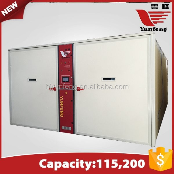 YFDF-115200 industrial large commercial egg incubators for sale