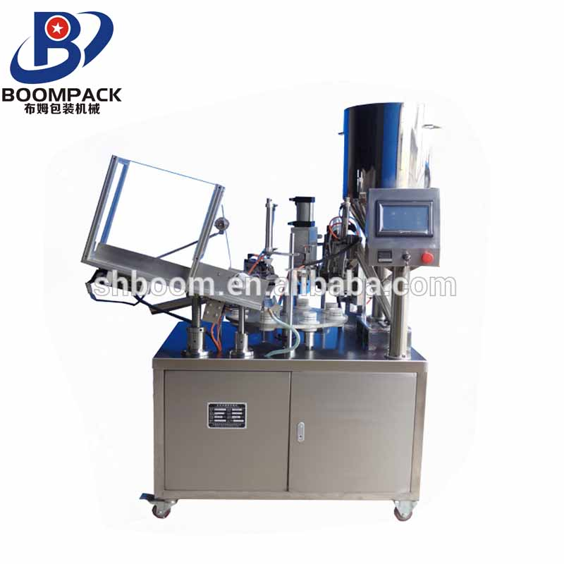 Low price automatic ampoule filling and sealing machine for tube