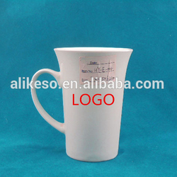 Wholesale cheap bulk porcelain blank white ceramic mugs from China manufacturer