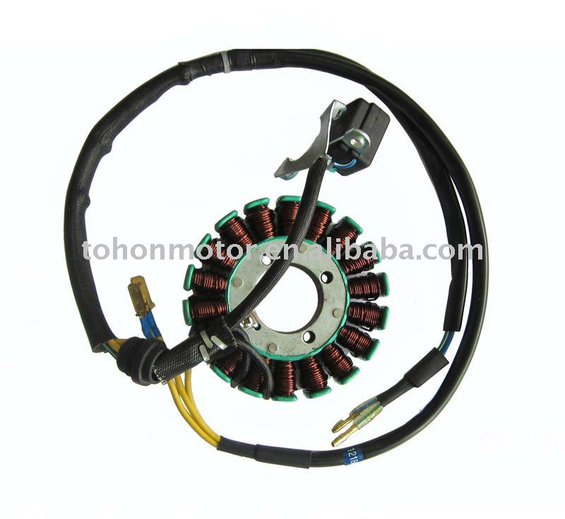 MOTORCYCLE STATOR COMP. CG125-18