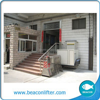 With CE certificate handicapped platform/elevator lift