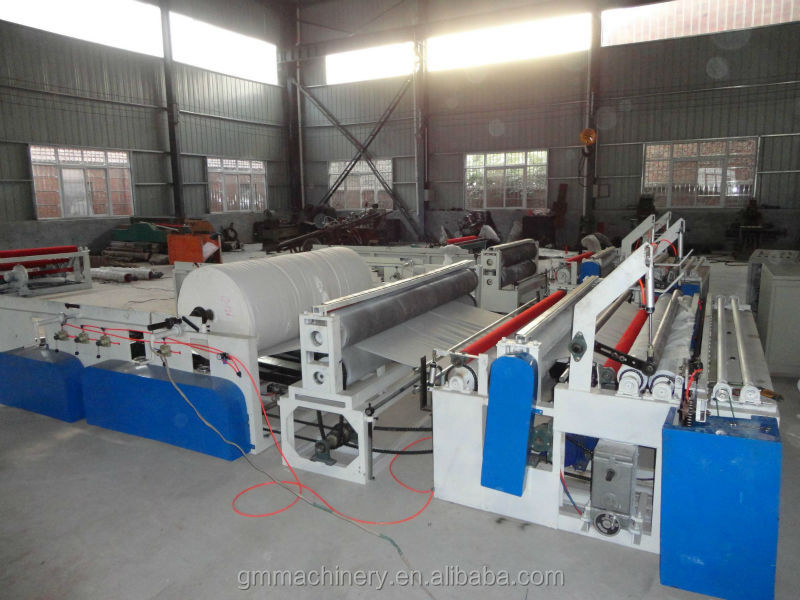 automatic paper feeder paper perforation machine for toilet tissue paper mills