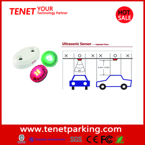 Available Parking Spaces System with Car Detection Ultrasonic Sensor