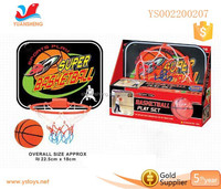 Hot selling kid plastic basketball indoor games for children