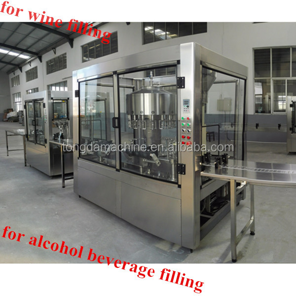 Automatic Champers/Brandy/Distilled Spirit Wine Bottling Line/filling line