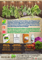 Organic Fertilizer/ Soil Mix/ Pesticide