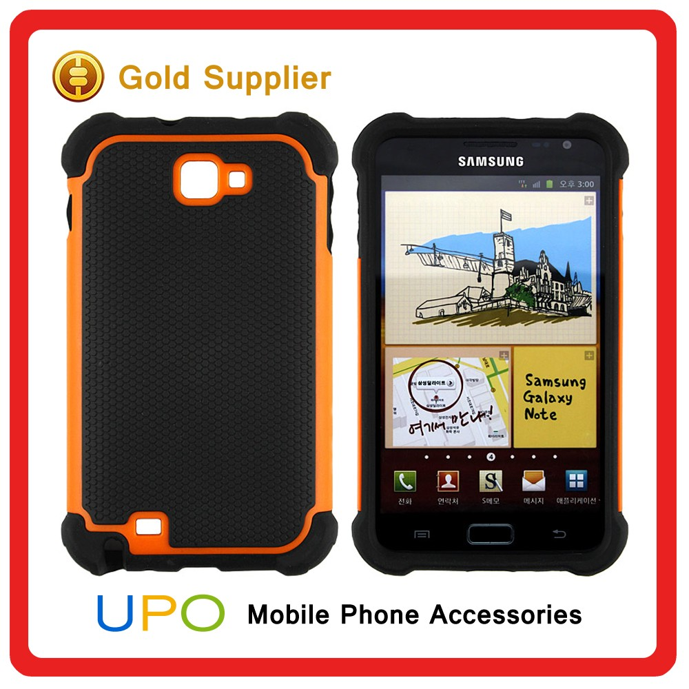 [UPO] 2016 Unique 3 in 1 Hard Plastic Silicon Mobile Phone Case For Samsung Galaxy Note I9220