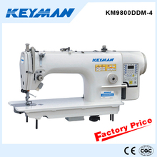 KM9800DDM-4Mechatronic computerized single needle lockstitch sewing machine 7200 direct drive machine