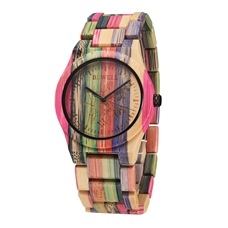 hot selling natural wood watches men women, wrist watches unisex