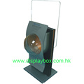 Acrylic Wooden Showcase Display Stand
