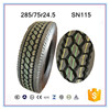 High performance truck tyres 285/75r24.5 to USA best selling