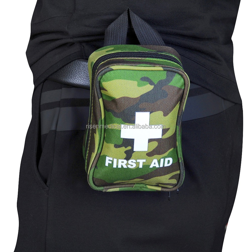 Hot sale camo medical tactical first aid kit for military camping outdoor