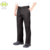Black polyester high quality mens work trouser