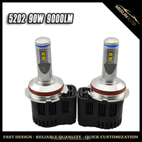 D1 D2 D3 D4 P HILIPS 9000LM P6 100W LED Conversion Kit Headlight Light Bulb Xenon White 3000K 4000K 5000K 6000K