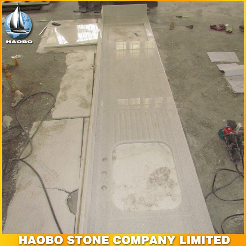 Haobo Stone River Gold Granite Slabs for Kitchen Tops