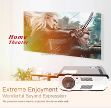NEW full HD projector SD200 smallest 5.7' LCD screen projector with Android cheaper than LED86+
