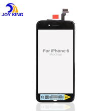 4.7'' Mobile Phone Parts for iPhone 6 LCD Display + AAA Touch Screen Digitizer Replacement No Dead Pixel White Black