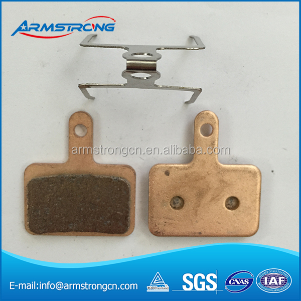 bike accessories smooth Confortable sintered mtb brake pads for promax dsk-810