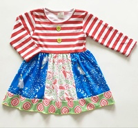 Wholesale new design for 2014 little girl stripping clothes dresses