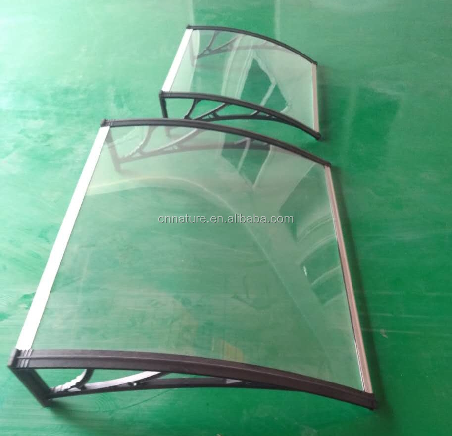 economic solid sheet Polycarbonate awning/canopy
