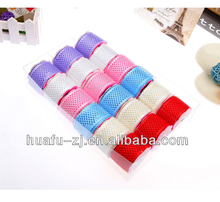 2016 Ecomomic Colored Polyester Satin Ribbon Roll