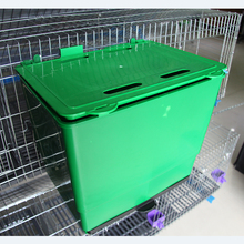 2017 hot sale hard plastic rabbit nest box from China manufacturer for rabbit farm