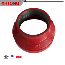 ductile iron FM UL approved threaded concentric reducer for fire fighting