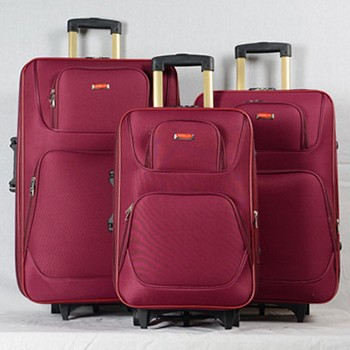 External Wheels Cheap Eva Trolley Fabric Suitcase - Buy Eva ...