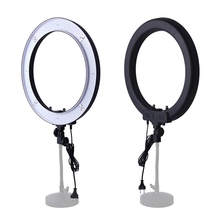 Fosoto Easy 55W 5500K 240 LED Dimmable photography Camera Photo/Studio/Phone/Video Ring Light Lamp with Tripod