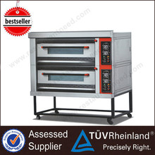 Restaurant Professional Gas/Electric K026 2-Layer 4-Tray Kitchen Oven For Mini Bakery Gas Wall Oven