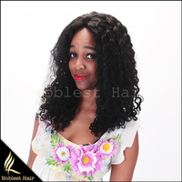 Top Quality 100% Virgin Brazilian hair 4x4'' Silk Base Full Lace Wig 7A Grade Virgin Human Hair Lace Wigs for Black Women