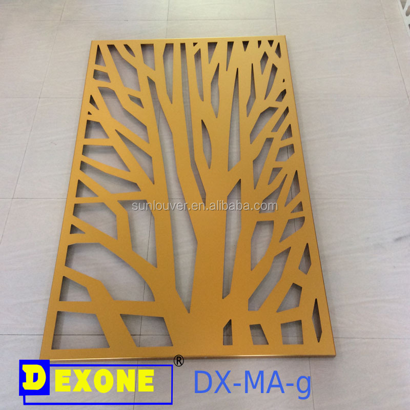 Exterior metal fence panel walldecoration/partition panel screen for construction