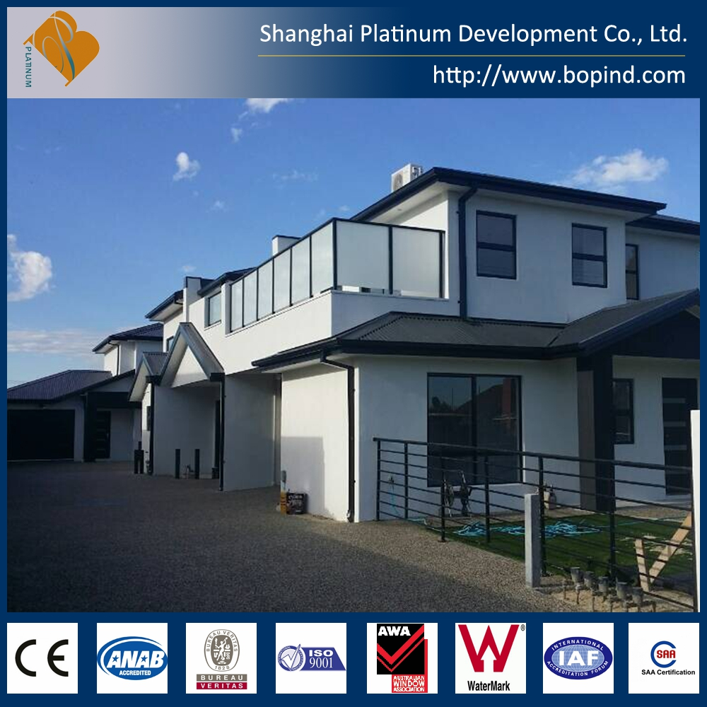 low cost prefab steel construction pillars used in prefab house