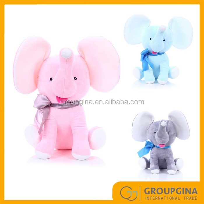 Easer Gift Seated Monogram Stuff Elephant