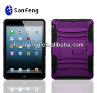 Plastic anti-shock case for ipad mini New fashion case cover for ipad mini