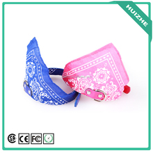 2016Dog Accessories Pet Products/ Dog Saliva Scarf/ Pu Leather Dog Triangular Bandage Collar