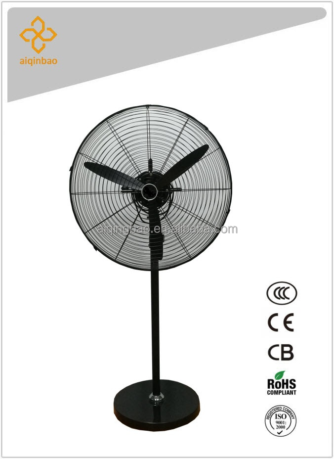 "High velocity 20"" three metal blade oscillating industrial air cooling fan FS500-A1"