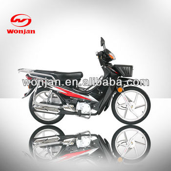110cc moped motorcycle,mini cub motorbike for Burma(WJ110)