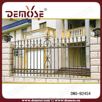 metal deck rail wrought iron railing parts band stand cast iron