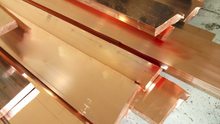 C10200 1/4 hard copper sheet /plate, high quality red copper