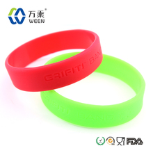 promotional silicone rubber wristband energy silicone bands elegant wrist bands