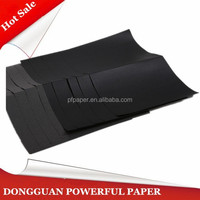 1.5mm black cardboard paper for wedding photo album cover
