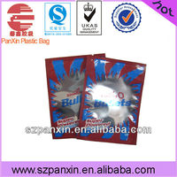 fried chicken plastic packaging bag with clear window