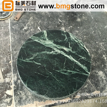 Indian Dark Green Marble Dining Tables round counter tops